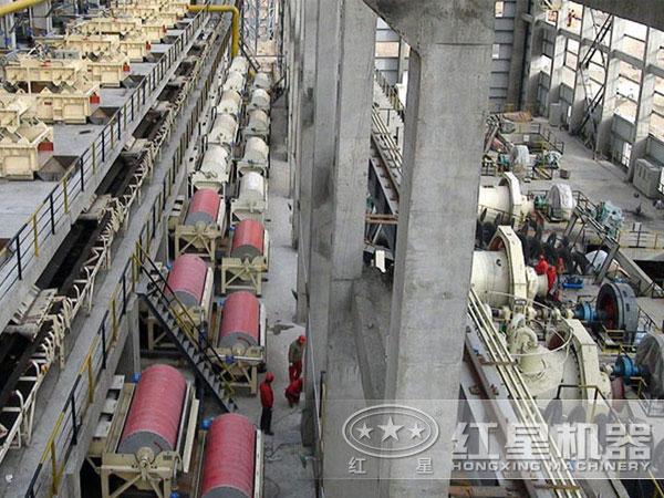 干式磁选机大型加工现场