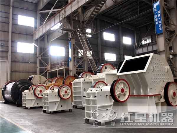 不同类型的大型制砂碎石机械
